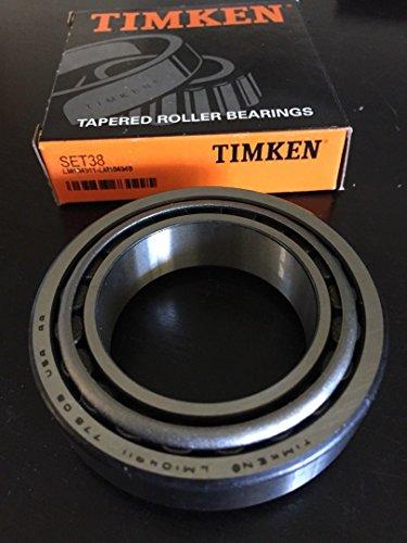 - Wheel Bearing and Race Set-Race LM104949 LM104911 TIMKEN SET38 Set 38