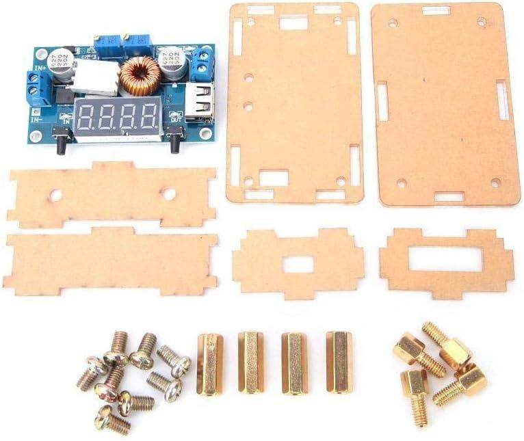 YISUNF Industrial, DC Buck Converter, 12V 24V 7-36V a 1.25-32V Junta Reductor voltios DC a DC reducen el convertidor, el módulo de alimentación, Junta Reductor voltios con Pantalla LED Azul