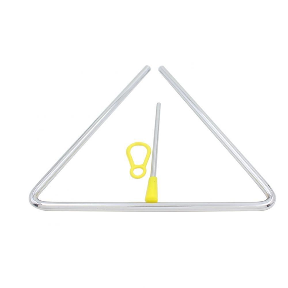 Instrumento Musical de Percusi/ón Musical para Ni/ños Iluminaci/ón Musical Tri/ángulo de Acero con Striker Drfeify Tri/ángulo de Hierro