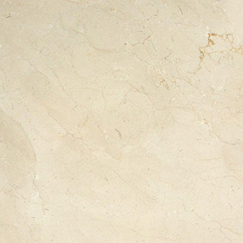 (Honed Spanish Crema Marfil Zara Marble Tile - Premium, 18 x 18 )