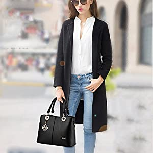 NEW Women Leather Handbag Shoulder Bag Messenger Hobo Satchel Tote Crossbody Bag
