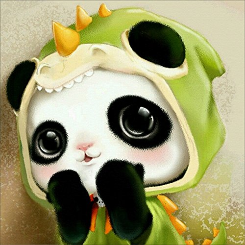 5D DIY Embroidery Cute Panda Diamond Painting Mosaic Rhinestone Pictures Cross Stitch Paint Home Decor