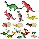 子供のための教育用プラスチック盛り合わせの恐竜のおもちゃフィギュア - 20パック、#18