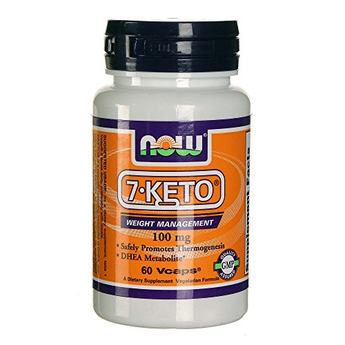 Now Foods 7-Keto Lean 100 mg 60 Vcaps by Now Foods