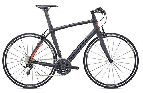 Cheap Kestrel RT-1000 Flat Bar Shimano 105 Fitness Road Bike, X-Large/59 cm, Satin Carbon/gloss Black