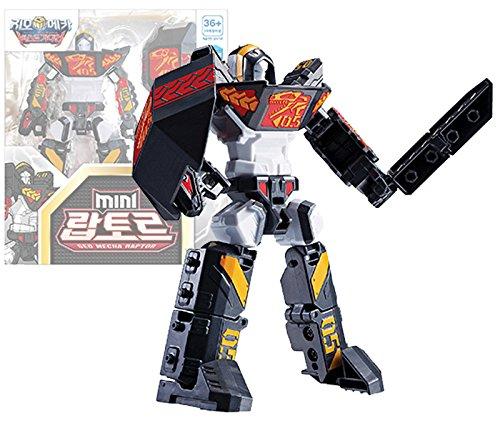 Geo Mecha Beast Guardian Mini Raptor Transformer Robot Toy Action Figure