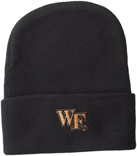 Two Feet Ahead NCAA Wake Forest Demon Deacons Infant Knit Cap, New Born, -