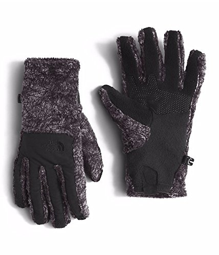 Nylon Print Gloves - The North Face Denali Thermal Etip Glove Women's TNF Black Marble Print Large