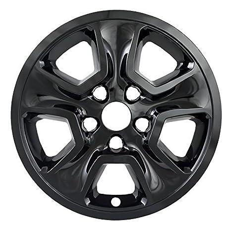 Black 17 Tapa de buje rueda Skins para Jeep Grand Cherokee - Juego de 4: Amazon.es: Coche y moto