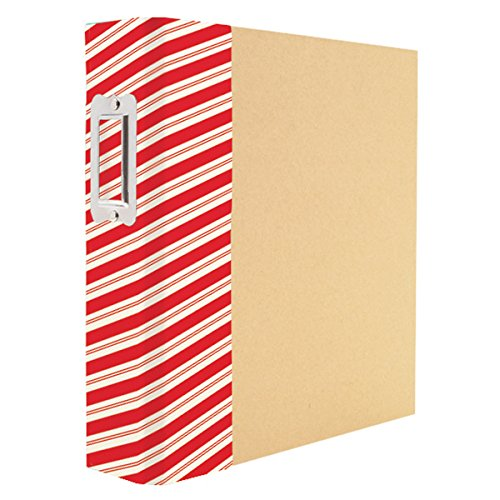 Simple Stories Striped Holiday Sn@p! Binder, 6 Piece