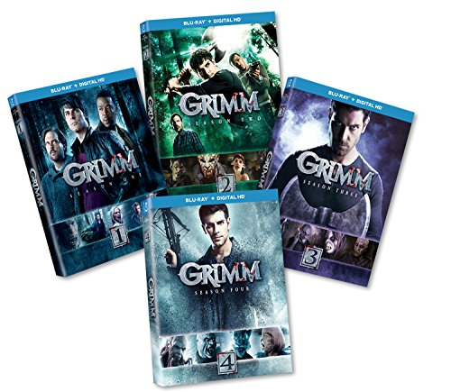 Grimm S1-4 Bundle Blu-ray by Universal