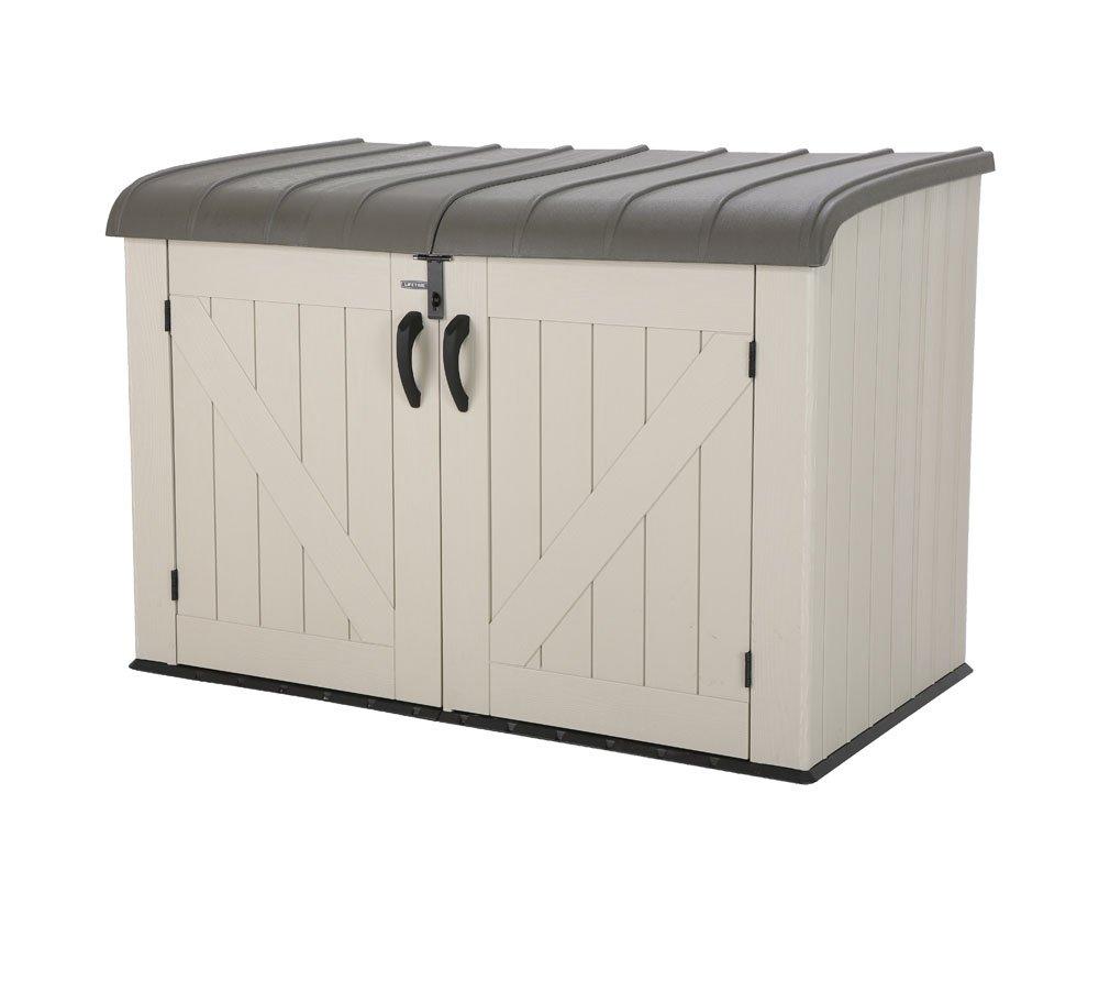 fahrradschuppen kunststoff kunststoff schuppen fahrradschuppen ger tehaus in twist ger. Black Bedroom Furniture Sets. Home Design Ideas