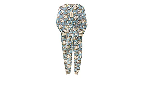 Pijama para Mujer Disney Chip Beauty and The Beast All In One, Pattern 1, Small: Amazon.es: Hogar