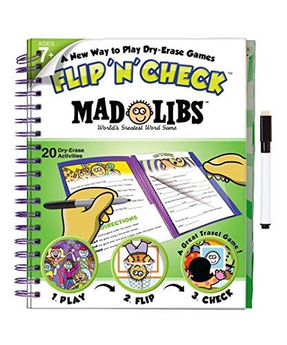 Flip Math Activity Book - Flip 'N' Check Mad Libs Activity Book