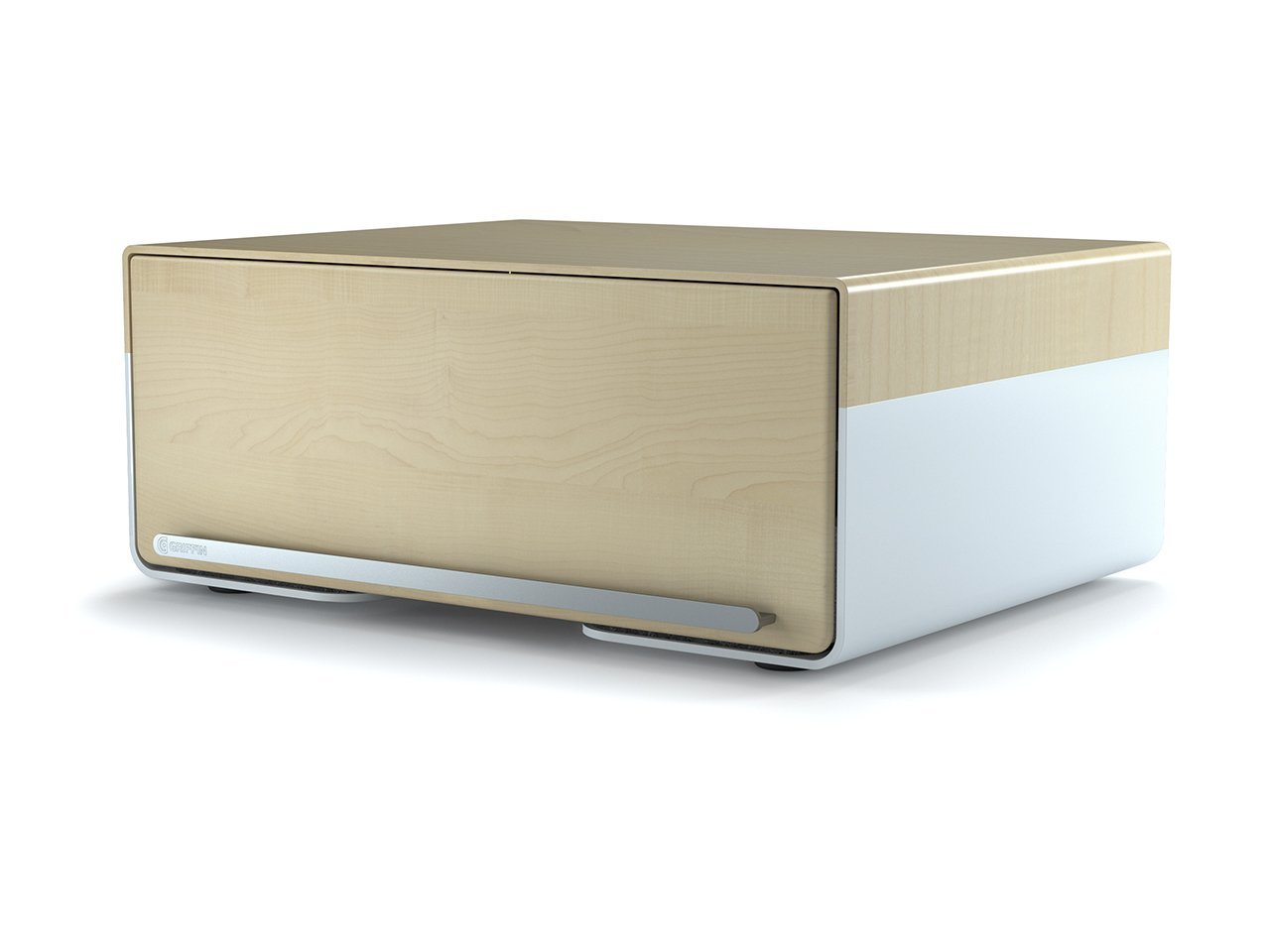 Griffin Cove USB 5-Port Charging Station, Light Birch - An elegant place to store and charge everything.