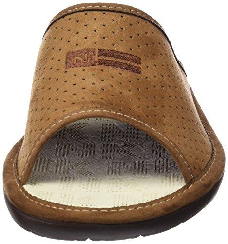 Brown Brown Slippers Men's Open Back 3114 030 Nordikas fwYOqpXxp