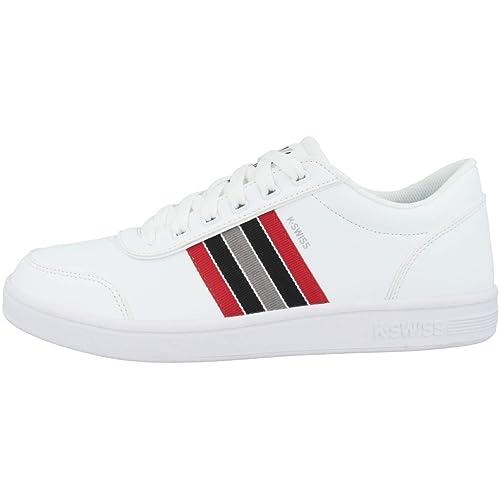 K-Swiss Court Clarkson S, Zapatillas para Hombre, Blanco (White/Paloma