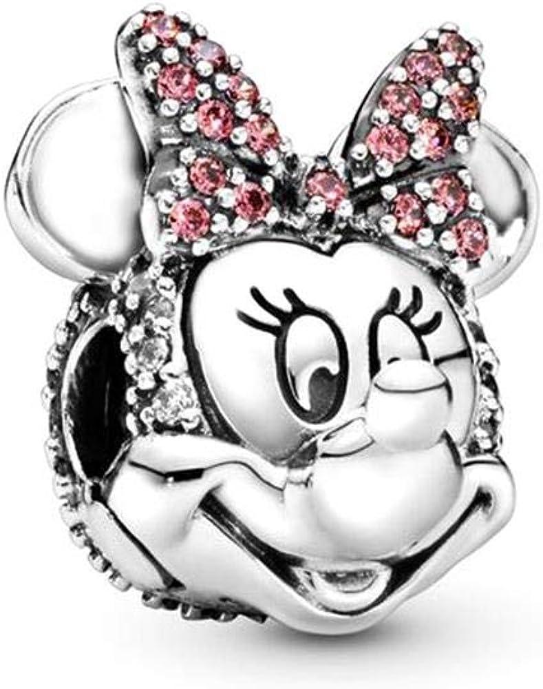 PANDORA Disney Shimmering Minnie Portrait Charm