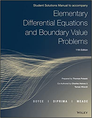 Elementary differential equations and boundary value problems 11e elementary differential equations and boundary value problems 11e student solutions manual 11th edition fandeluxe Image collections