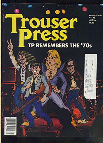 Trouser Press January 1980 deacde review anniversary issue obituaries rock MBX1