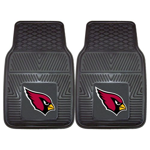 (FANMATS NFL Arizona Cardinals Vinyl Heavy Duty Car Mat)