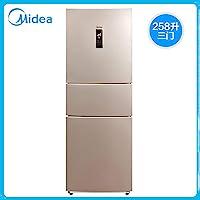 【美的新春大促】美的(Midea) BCD-258WTM(E) 258升美的冰箱小型冰箱家用三门电冰箱 风冷无霜 节能静音 阳光米(美的厂家直接供货、由美的安得物流配送到家,全国联保)
