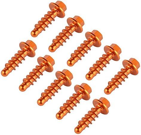TTOUTDO Tapping Screw Bolt Kits For Ktm 125 200 250 300 350 400 450 500 530 660 690 1190 1290 Sx Exc Xc Sxf Smr Xcw For Husqvarna For Husaberg Orange