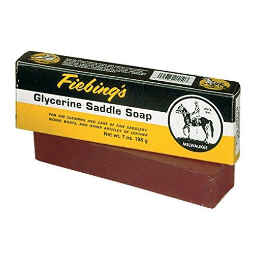 Fiebing's Glycerin Saddle Soap Bar, 7 oz