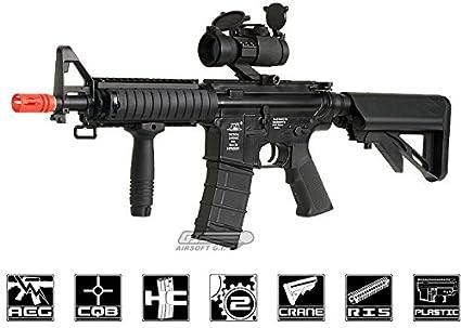 Amazon.com: Ics M4 RIS Rifle Airsoft Gun AEG Sport (Airsoft ...
