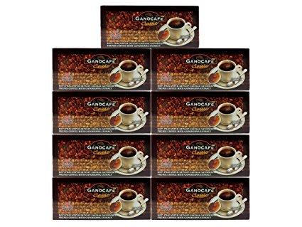 9 Boxes Gano Excel GanoCafe Classic Coffee Ganoderma Lucidum Extract