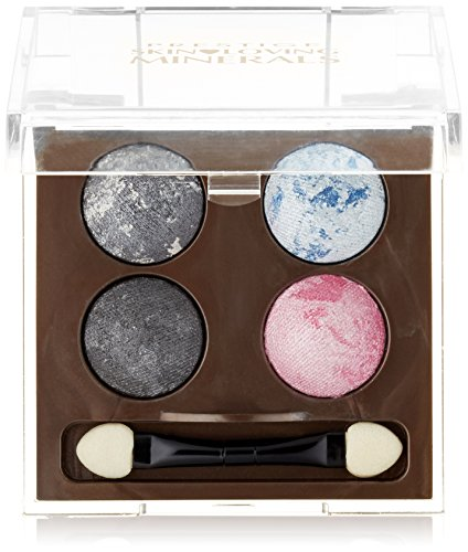Prestige Cosmetics Skin Loving Minerals Baked Shadow Quad Mineral Eye Shadow, Gemma, 0.07 Ounce (Dimensional Ounce 0.07 Shadow)