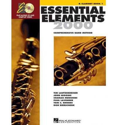 [(Essential Elements for Band - Book 1 with Eei: BB Clarinet)] [Author: Hal Leonard Publishing Corporation] published on (October, 2007)