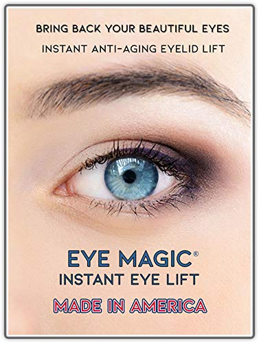 Eye Magic Premium Instant Eye Lift (Small/Medium) Made in America - Lifts and Defines Droopy, Sagging, Upper Eyelids (Best Eye Cream For Droopy Upper Eyelids)