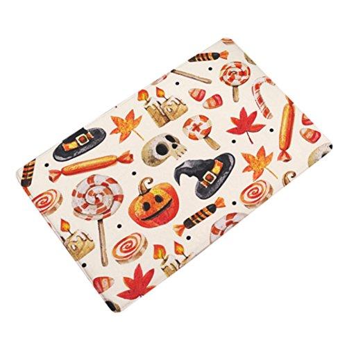 Door mat,Nesee Halloween Home Non Slip Door Floor Mats Hall Rugs Kitchen Bathroom Carpet Decor (Anti Halloween Poster)