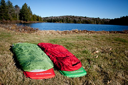 "Lightweight Self Inflating Sleeping Pad - Compact for Backpacking, Camping, Hiking, Hammocks! 8 SLEEP ON THE MOST COMFORTABLE SLEEPING PAD - Our rapid rise open cell foam design keeps our self inflating sleeping pad ultra light weight while providing comfortable support! With a perfect thickness of 1.5"" our pad protects you from the cold and uncomfortable ground but is still compact when not inflated for hiking, camping, and traveling. SELF INFLATING & FITS ALL - With our self inflating technology you don't need to spend time blowing up your own sleeping pad! Our valves provide a rapid inflation and deflation so you can set up your camp quickly! You are able to control the exact firmness of the pad by blowing more air into the valve. We carry two sizes so everyone can enjoy a comfortable sleep while camping, trekking or backpacking! See our dimensions in the product description. CARRY BAG & PATCH KIT - Our sleeping pads come with a storage bag, which makes traveling with your pad SUPER EASY. We also include an emergency patch kit incase anything happens in the backcountry! Feel comfortable knowing you'll be able to patch your pad on the go."