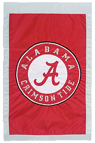 University of Alabama - 28'' x 44'' Double Sided Appliqued NCAA Banner