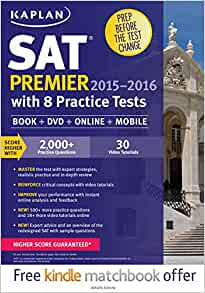 Kaplan sat practice test book
