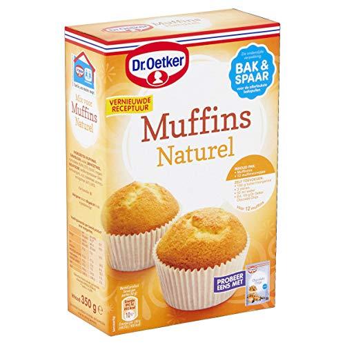 Dr.Oetker Muffins naturel met vormpjes – bakmix voor 12 muffins (350 g)