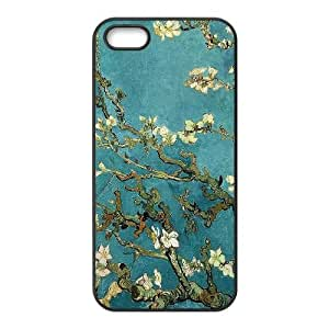 Van Gogh Almond Blossoms iPhone 4 4s Cell Phone Case Black Exquisite gift (SA_627231)
