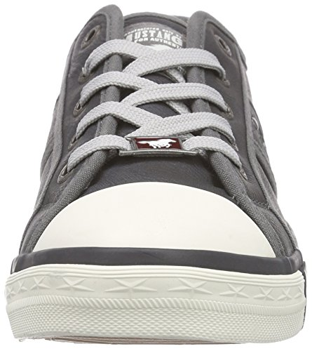 Basses 1209 graphit Gris 301 Femme Sneakers Mustang w4xFSqHZ