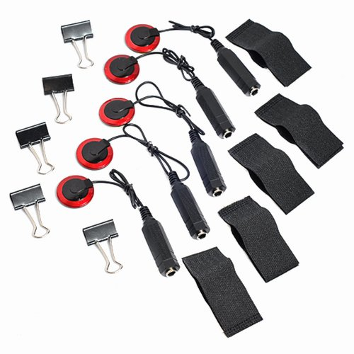 5pkg Guitar Violin Viola Cello Banjo Contact Mic. Pickup