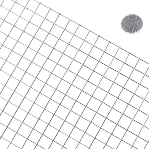 Fencer Wire 16 Gauge Stainless Steel Welded Wire with Mesh Size 0.5″ x 0.5″ (3 ft. x 100 ft.) Review