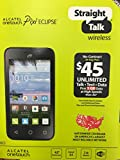 Straight Talk Alcatel A521L One Touch Pop Star Prepaid Android Smartphone Phone