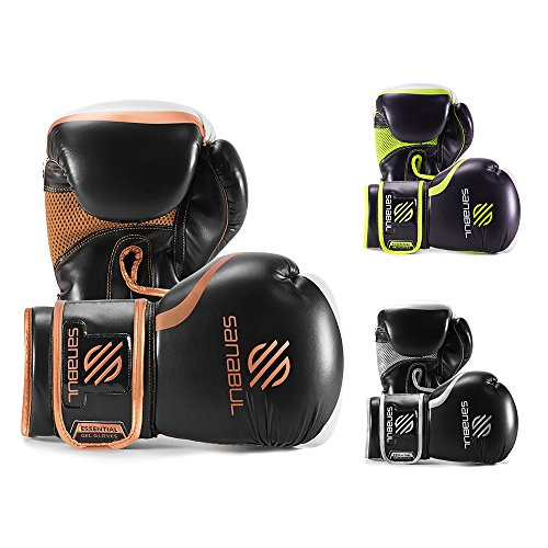 ESSENTIAL BOXING GLOVES COPPER 8-OZ