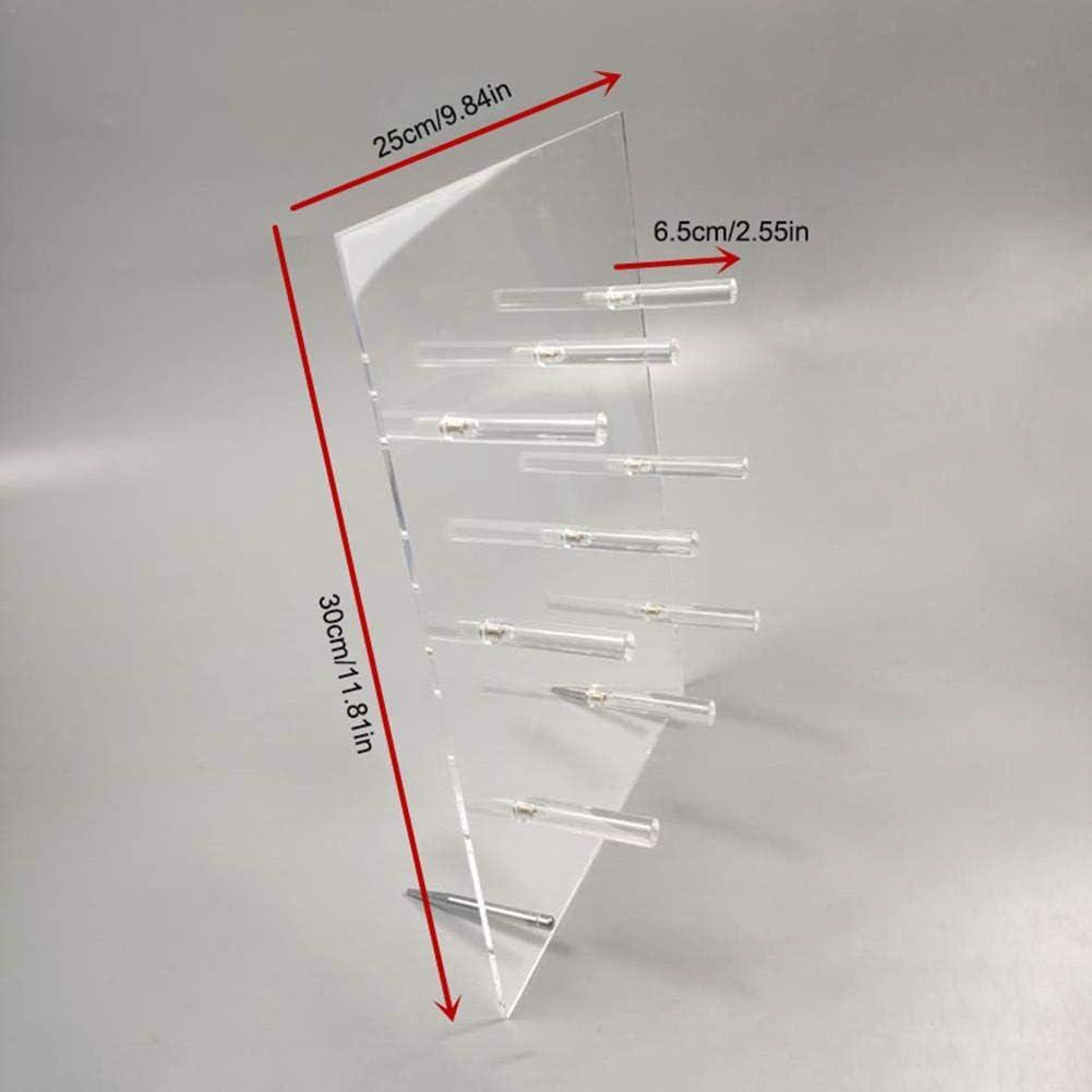 Wiederverwendbar Kristall Klar Handgemacht Krapfen Mauer Halter Tabelle Donuts Rack F/ür Party Acryl Donut St/änder