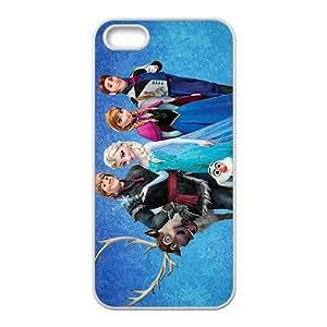JIANADA Frozen White iPhone 5s case