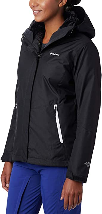 Columbia Womens Plus-Size Bugaboo II Fleece Interchange Jacket