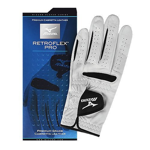 Mizuno Golf Retroflex Pro Leather MLH Gloves, Medium-Large, Right Hand