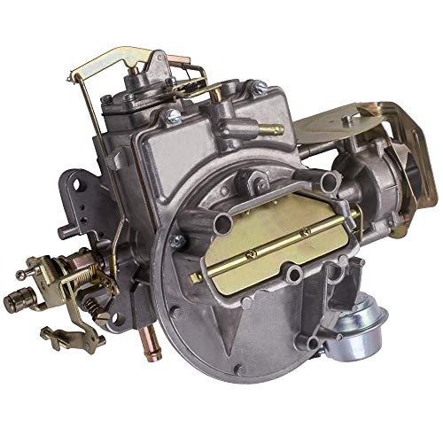 Waverspeed 2-Barrel Carburetor for Ford 289 302 351 Cu F100 F250 F350 Mustang Comet,for Jeep Wagoneer 1964-1978 360 Cu Engine 2100A800