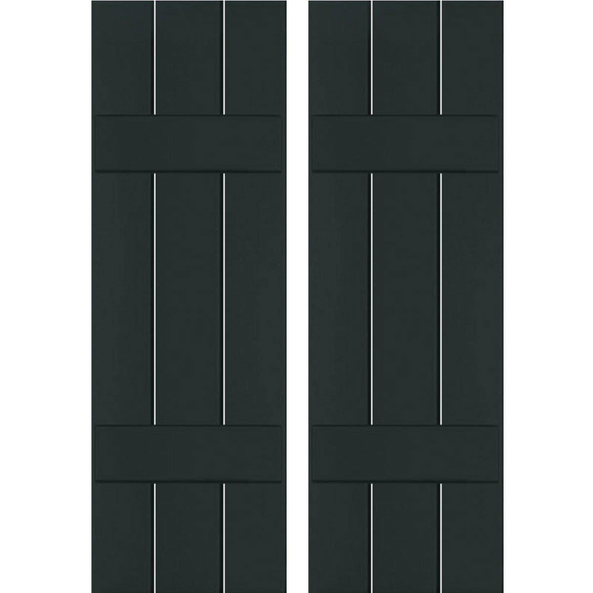 Ekena Millwork RWB12X030DGP Exterior Three Board
